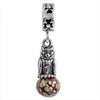 SilveRado Owl of Wisdom Murano Glass Dangle, Murano Glass Dangle, SilveRado