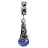 SilveRado Siren of the Sea Murano Glass Dangle, Murano Glass Dangle, SilveRado