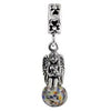 SilveRado Angel of Light Murano Glass Dangle, Murano Glass Dangle, SilveRado