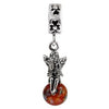 SilveRado Wishes and Kisses Murano Glass Dangle, Murano Glass Dangle, SilveRado