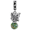 SilveRado Summer Magic Murano Glass Dangle, Murano Glass Dangle, SilveRado