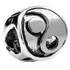 SilveRado Yin and Yang Sterling Silver Charm