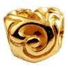 SilveRado Filigree Heart No3 14kt Gold Charm
