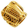 SilveRado Accordian, Tuba & Guitar 14kt Gold Charm