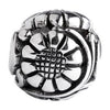 SilveRado Flower Focal No1 Sterling Silver Focal Bead, SS Focal Bead, SilveRado