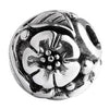 SilveRado Flower Focal No2 Sterling Silver Focal Bead, SS Focal Bead, SilveRado