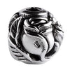 SilveRado Flower Focal No4 Sterling Silver Focal Bead, SS Focal Bead, SilveRado