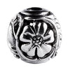 SilveRado Flower Focal No5 Sterling Silver Focal Bead, SS Focal Bead, SilveRado