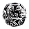 SilveRado Bird Focal No3 Sterling Silver Focal Bead, SS Focal Bead, SilveRado