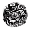 SilveRado Bird Focal No4 Sterling Silver Focal Bead, SS Focal Bead, SilveRado