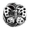 SilveRado Butterfly Focal No1 Sterling Silver Focal Bead, SS Focal Bead, SilveRado