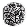 SilveRado Butterfly Focal No2 Sterling Silver Focal Bead, SS Focal Bead, SilveRado