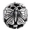 SilveRado Butterfly Focal No4 Sterling Silver Focal Bead, SS Focal Bead, SilveRado