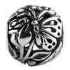 SilveRado Butterfly Focal No5 Sterling Silver Focal Bead, SS Focal Bead, SilveRado
