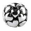 SilveRado Love Hearts Sterling Silver Focal Bead, SS Focal Bead, SilveRado