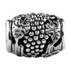 SilveRado Wine Barrel Sterling Silver Focal Bead, SS Focal Bead, SilveRado