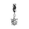 SilveRado Sea Turtle Sterling Silver Dangle Charm