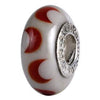 SilveRado Twighlight Kisses Murano Glass Bead, Murano Glass Bead, SilveRado