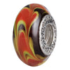 SilveRado Desert Sands Murano Glass Bead