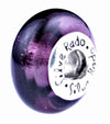 SilveRado Purple Passion Murano Glass Bead, Murano Glass Bead, SilveRado