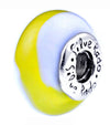 SilveRado Tropical Dreaming Murano Glass Bead, Murano Glass Bead, SilveRado
