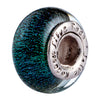 SilveRado San Francisco Sterling Silver Dichroic Glass Bead