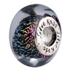 SilveRado Paris Sterling Silver Dichroic Glass Bead