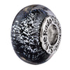 SilveRado London Sterling Silver Dichroic Glass Bead