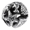 SilveRado Sea Creatures Sterling Silver Small Focal Charm, SS Small Focal Charm, SilveRado