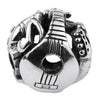 SilveRado Musical Instruments Sterling Silver Large Focal Charm, SS Large Focal Charm, SilveRado