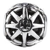 SilveRado Mag Wheel No1 Sterling Silver Large Focal Charm, SS Large Focal Charm, SilveRado