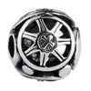 SilveRado Big Wheel Sterling Silver Large Focal Charm, SS Large Focal Charm, SilveRado
