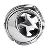 SilveRado Moon And Star Sterling Silver Large Focal Charm, SS Large Focal Charm, SilveRado