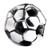 SilveRado Soccer Ball Sterling Silver Small Focal Charm, SS Small Focal Charm, SilveRado