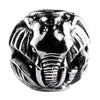 SilveRado Two Elephants Sterling Silver Large Focal Charm, SS Large Focal Charm, SilveRado