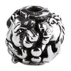 SilveRado Big Five Sterling Silver Large Focal Charm, SS Large Focal Charm, SilveRado
