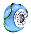 SilveRado Atlantis Murano Glass Bead, Murano Glass Bead, SilveRado