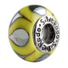 SilveRado Lady Luck Murano Glass Bead, Murano Glass Bead, SilveRado