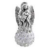 Guardian Angel Bling White Bead
