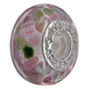 SilveRado Rainbows Edge Murano Glass Bead