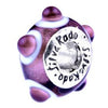 SilveRado Tea Rose Murano Glass Bead, Murano Glass Bead, SilveRado
