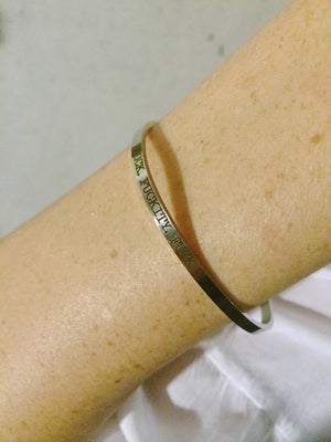 Triple F*** Delicate Bangle