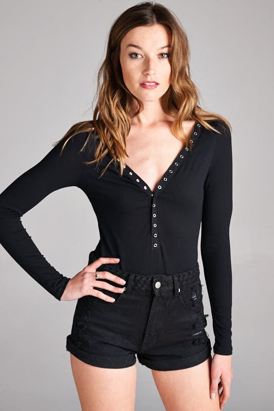 Grommet Body Suit