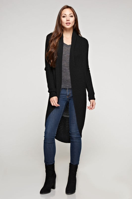 Cashmere Blend Two Way Duster