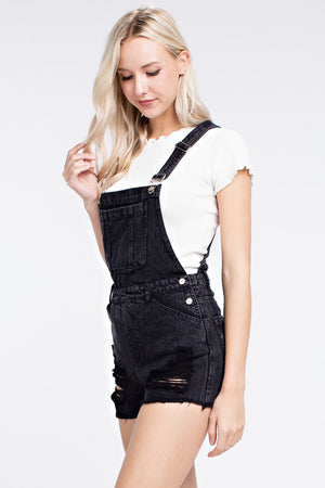 April Overall Shorts