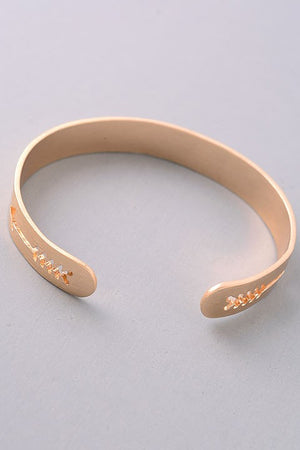 Arrow Cutout Bracelet