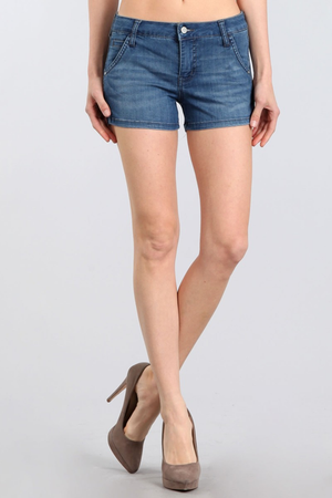 Riviera Mid Rise Shorts