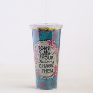 Natural Life Chase Your Dreams On The Go Cup