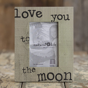 Natural Life Love You Boardwalk Frame