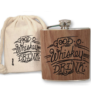 Good -O- Whiskey Flask